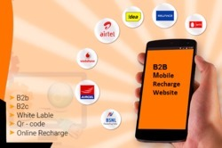 B2B Mobile Recharge Website