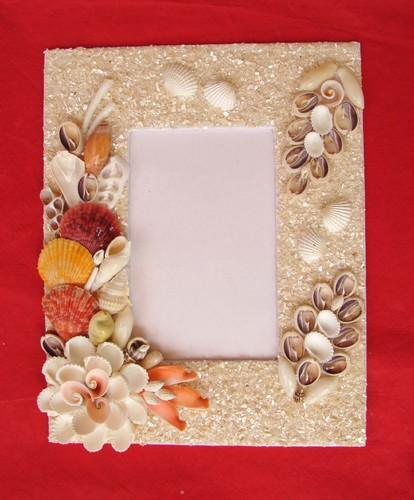 Seashell Handicrafts Seashell Photo Frame Manufacturer From Cuddalore