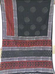 Hand Block Cotton Sarees