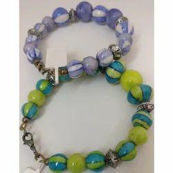 Pottery Beads Bracelet