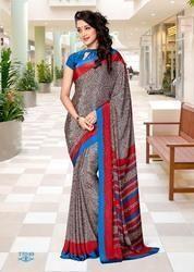 Uniform Silk Saree