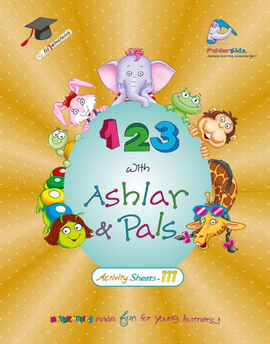 KG 2 Books - 123 Activity Sheets-III Book Manufacturer from Noida