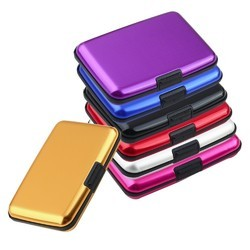 Aluminum Wallet In Different Colors