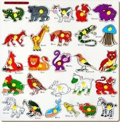 Animals Alphabets Picture Puzzle