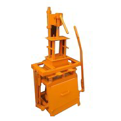 Manual Movable Concrete Block Making Machine