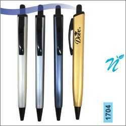 Plastic Square Pearl Coloured Pen