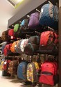 Display Racks for School Bags and College Bags