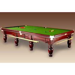 Snooker Tablein Brown Polish