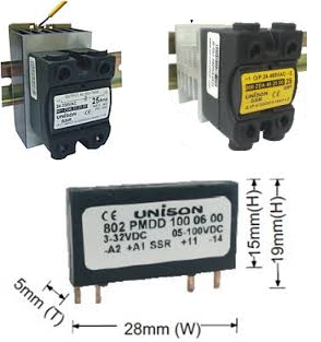 Unison Solid State Relay Unison Relay Manufacturer from Mumbai