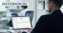 INC-22- Certification of Company Registered Office