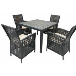Designer Outdoor Chair and Table Set
