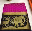 Kanjivaram Jungle Book 2 Saree