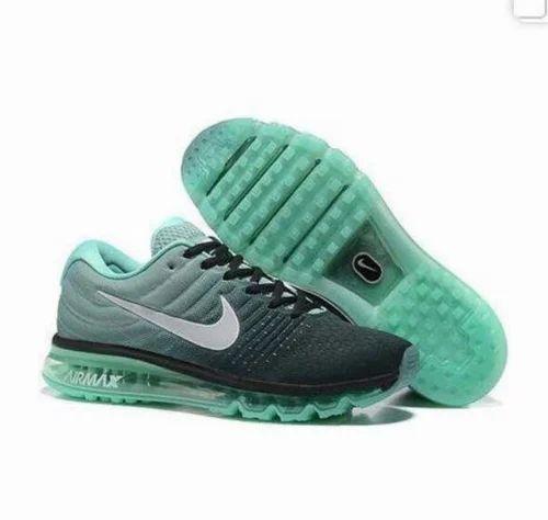 Green Nike Airmax Shoe, Size: 10, 6, 7