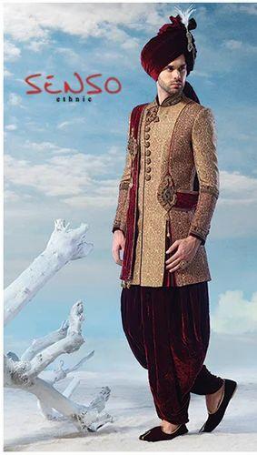 Mens Wear Wedding Embroidered Sherwani Manufacturer From Mumbai