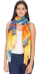Digital Printed Viscose Women's Stole