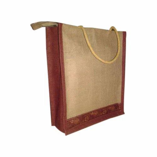 9359e50aff16 Jute Lunch Bags - Jute Handle Lunch Bag Manufacturer from Delhi