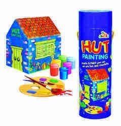 Kids Hut Painting Accessories