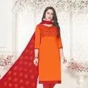 Beautiful Cotton Work Salwar Suit