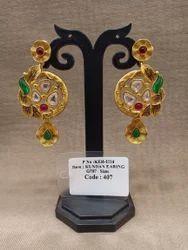 Kundan Classic Earring