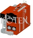 Solid fuel fired Skid mounted steam boiler