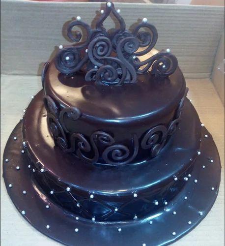 Designers Cake 2 Tier Chocolate Lover Cake Wholesaler From Bhilwara