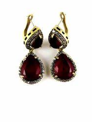 Turkish Earrings Silver