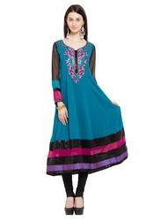 Casual Party Wear Ladies Short Kurti Tunic