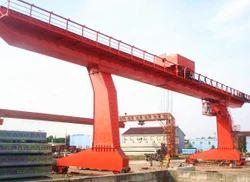 Single Girder Gantry Cranes With Cantilever Beam