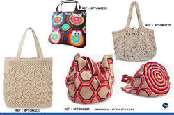Fashion Crochet Hand Embroidered Bag