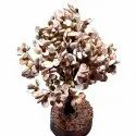 Gomti Chakra Tree With 54 To 1100 Beads Rudraksha (White And Brown)