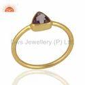 Amethyst Gemstone 925 Silver Rings