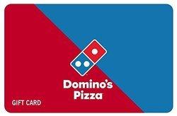 Domino's Pizza - Gift Card - Gift Voucher