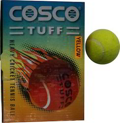 Cosco Tuff Cricket Tennis Balls