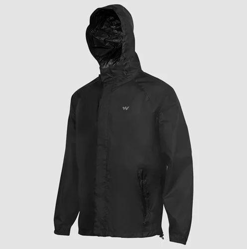 710e7647b8d Men Rain Coats   Jackets - Wildcraft HypaDry Anthracite Black Unisex ...