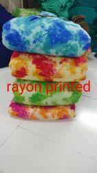 Rayon Print