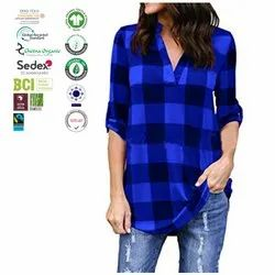 Organic cotton Ladies garments Manufacturer