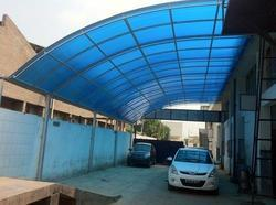 Outdoor Polycarbonate Sheds