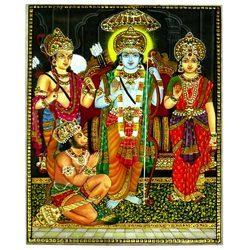 Marble Sita Ram Laxman Painting