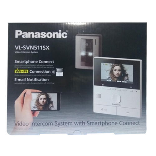 Video Intercom System Panasonic Wireless Video Door Phone Vl