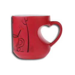 Magic Mug Heart Shape