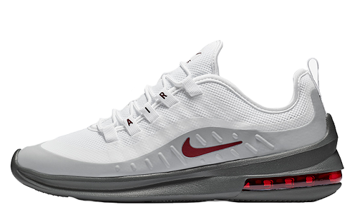 White/Grey Men Nike Air Max Axis