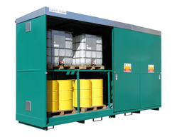 MS Containers to Store IBCs