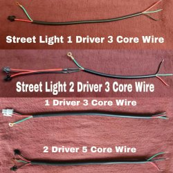 Cable to Connect 2 or 3 LED Drivers