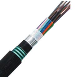 Armoured Fiber Optic Cable, 12 Core, SM, Multitube