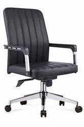 Black Revolving Visitor Chair
