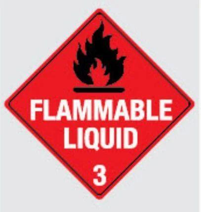 3m Hazard Warning Flammable Liquid Sign Manufacturer From Chennai
