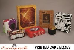Printed Cake Boxes (Pack of 100)