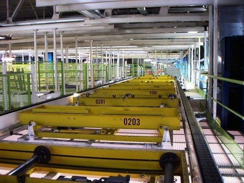 Automobile Conveyors - In Floor Slat Conveyor Manufacturer from Noida