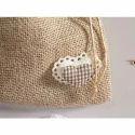 Juteberry Jute Multipurpose Drawstring Bag