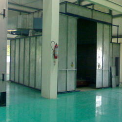 Industrial Painting Booth